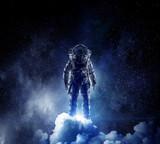 Adventure of spaceman. Mixed media - 174364122