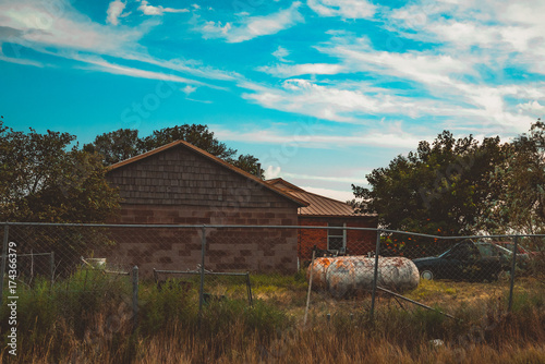 Aluminium Diepbruine house