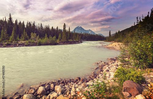 Fotobehang Galyna A. River in Canada