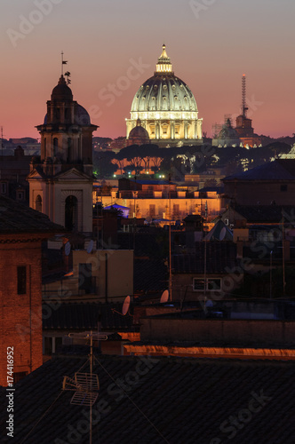 Foto op Plexiglas Bruin Basilica di San Pietro in Vaticano