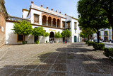 A beautiful view of the Plaza de Pilatos in Seville - 174421137