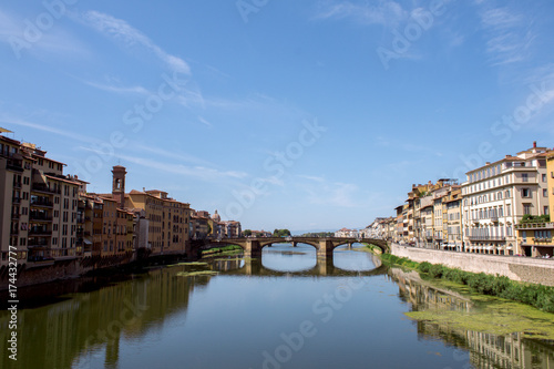 Deurstickers Florence Florencia