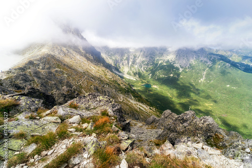 Fotobehang Olijf View from High Tatras mountains, Slovakia
