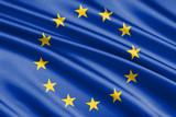 waving flag european Union - 174484185