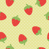 vector seamless strawberry pattern