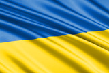 waving flag Ukraine - 174484761