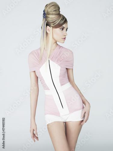 Papiers peints womenART Sexy blonde