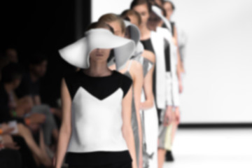 Fashion Show, Blurred on Purpose