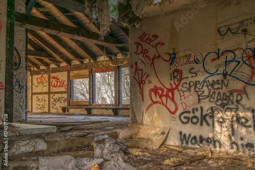 Foto op Canvas Graffiti Graffiti