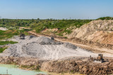 Clay quarry near the town of Polohy - 174520775