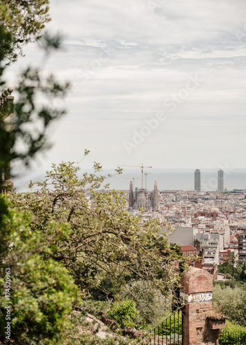 Poster Barcelona barcelona-spanien