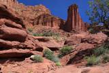 Colorful Red Rocks of Utah