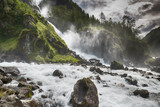 Latefossen waterfall norway