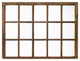 vintage sash window panel - 174554523
