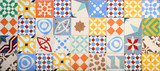 Hydraulic cement tiles, fashion trend - 174566702