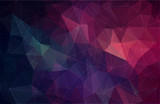 Flat color geometric triangle wallpaper - 174586770