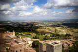 View from tallest tower in San Gimignano - 174609734