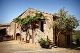 Old building and trees San Gimignano, Tuscany, Italy - 174612314