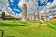 Quadro Public square of miracle in Pisa
