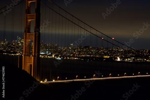 San Francisco Golden gate Up close  Poster