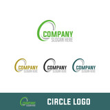 bird, lion, camel, circle, simple logo isolated