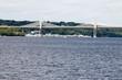 Saint Croix crossing, a bridge between Minnesota and Wisconsin at Stillwater, MN