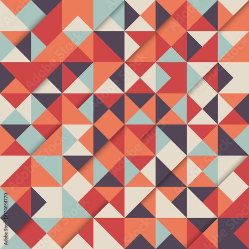 Fridge magnet Abstract modern vintage retro pattern background