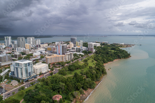 Darwin skyline, wet season - 174673573