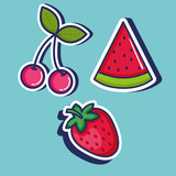 cute pop art icons vector illustration design - 174676192