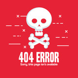 404 connection error icons vector illustration design - 174676974