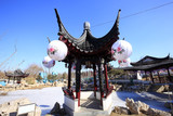 Ancient Chinese architecture - 174682308