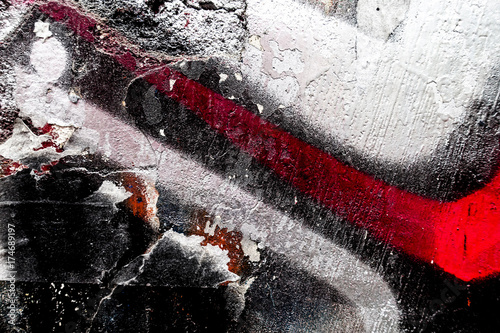 Foto op Plexiglas Graffiti Artistic Graffiti abstract background for your text or image