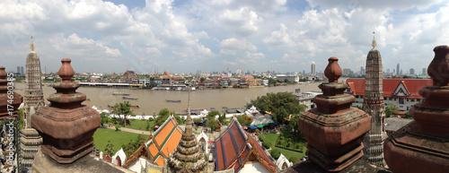 Foto op Aluminium Panoramafoto s Panoramic view from Bangkok