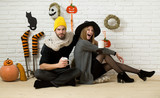Halloween festive and homely atmosphere - 174693507