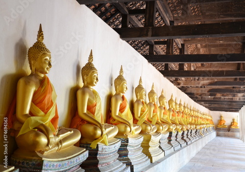 Keuken foto achterwand Boeddha Buddha, temple, temple, Thailand, Old Town, Wall, City, China, Travel, Culture, Bangkok, Phuket, Pattaya, Ayutthaya