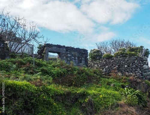 Fotobehang Pool in Ponta Delgada auf Madeira