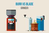 Burr vs blade grinders