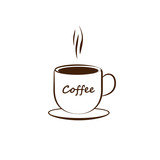 Icon of coffee cup.