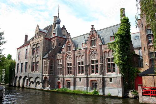 Aluminium Brugge Per le strade di Bruges,Belgio