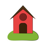 barn house or home icon image vector illustration design  - 174714551