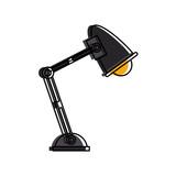 desk lamp icon image vector illustration design  - 174717715