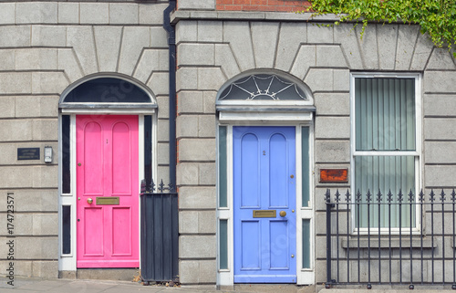 Georgian Doors in  Dublin city Poster