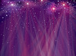 Vector violet,  sparkle background. Christmas background.