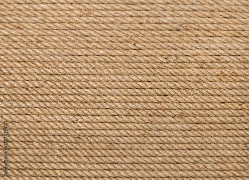 Background of hemp rope Poster