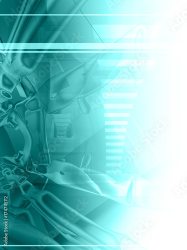 Aluminium Abstractie abstract background