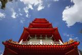 Close up on the 7 storey pagoda - 174747136