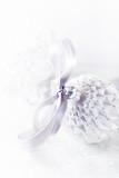Vintage Christmas Ball with Satin Ribbon - 174760521