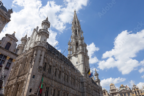 Foto op Canvas Brussel City Brussels Belgium