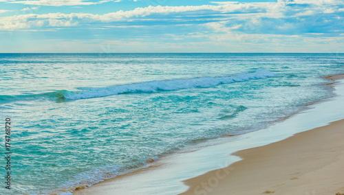 Tuinposter Lichtblauw 海岸 オーストラリア
