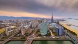 Fukuoka, Japan skyline - 174776322